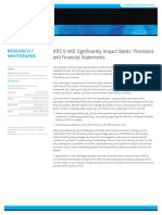 2015 26 03 IFRS 9 Will Significantly Impact Banks Provisions and Financial Statements