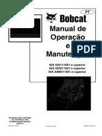 Manual de Operação e Manutenção Bobcat