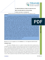 68. Ijasr - Effect of Plant Growth Regulators on Growth and Flowering