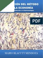 EVOLUCION DEL METODO EN LA ECONOMIA - MARIO MENDOZA