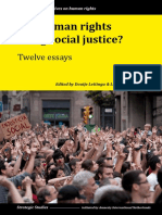 Book - Can Human Rights Bring Social Justice-Twelve Essays - Doutje Leetinga and Lars Van Troost