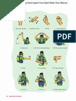 Scuba Diving Important Hand Signals