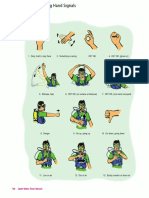 Scuba Diving Hand Signals Page 106