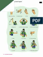 Scuba Diving Hand Signals Page 106 BLK