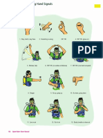 Scuba Diving Hand Signals Page 106 YEL