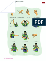 Scuba Diving Hand Signals Page 106 RED