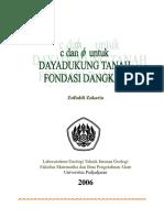 Zufialdi Zakaria 2006 Analisis Dayadukung Tanah