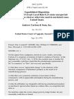 United States v. Andrew Carlson & Sons, Inc, 584 F.2d 974, 2d Cir. (1978)