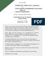 Itt World Communications, Inc. v. Federal Communications Commission and United States of America, 621 F.2d 1201, 2d Cir. (1980)