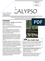 September-October 2007 CALYPSO Newsletter - Native Plant Society