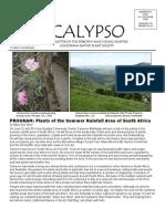 May-June 2008 CALYPSO Newsletter - Native Plant Society