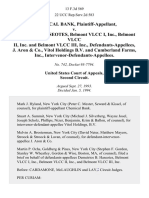 Chemical Bank v. Demetrios B. Haseotes, Belmont Vlcc I, Inc., Belmont Vlcc Ii, Inc. And Belmont Vlcc Iii, Inc., J. Aron & Co., Vitol Holdings B v. And Cumberland Farms, Inc., Intervenor-Defendants-Appellees, 13 F.3d 569, 2d Cir. (1994)