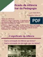 06) Pedagogia e infância - aulas 09 e 10-04.pps