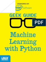 GeekGuide Intel MachineLearning