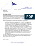NTA Commerce Tax Letter