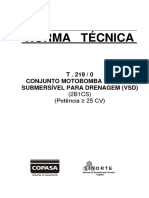 Norma T-219-0 / COPASA