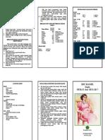Leaflet Ibu Hamleaflet bumil
