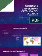 Discurso Médico, Salud Pública y Epidemiología Moderna