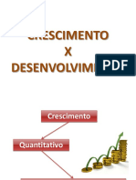 DSH_crescimento X Desenvolvimento