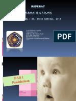 Ppt Dermatitis Atopik (d.a) Kiya