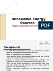 Lecture 1 Renewabl Energy