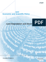 Land Degradation and Desertification