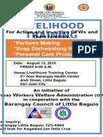 Livelihood Training OWWA