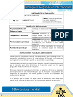 IE Evidencia 1Matriz DOFA Sobre Proyecto de Vida