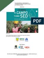 Relatoría Derecho Al Agua en Montes de María-lanzamiento Documental El Campo Tiene Sed