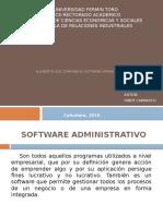 Elementos que componen un Software Administrativo
