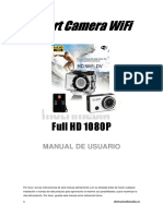Camara Sport WiFi Manual Usuario