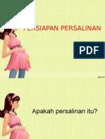 PERSIAPAN-PERSALINAN