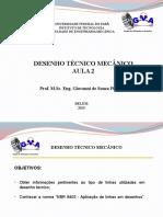 Desenho Técnico Mecânico - Aula 2