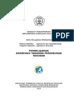 Agribisnis Tanaman Perkebunan - IZI