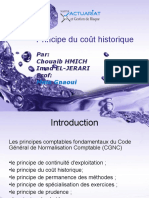 Principe Du Coùt Historique