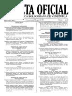 Gaceta Oficial Número 40.957 de la República de Venezuela, 02 de agosto de 2016
