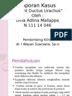 Lapsus Patent Dutus Urachus