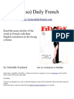 (Not so) Daily French