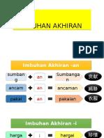 IMBUHAN AKHIRAN