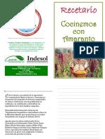 Recetario Cocinemos Con Amaranto (1)