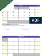 Intro to HCS Fall Calendar 2016