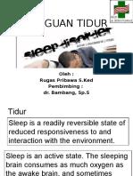 Gangguan Tidur Rugas