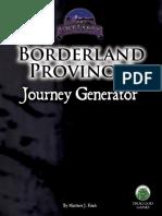 D&D5e - FGG - Borderland Provinces Journey Generator