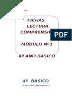 FICHAS DE LECTURA COMPRENSIVA 4° BASICO