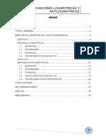Monografia Derivadas Logaritmicas y Antilogaritmicas
