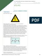 Mantenimiento Pc_ Conceptos Básicos de Voltaje, Corriente, Potencia y Resistencia