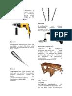 Herramientas de Carpinteria Con Definicion y Las Imagnes