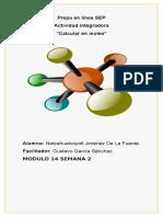 JimenezDeLaFuente Netzahualcoyotl M14S3 Calcularenmoles