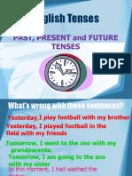 Ingles - Past, Present & Future Tenses
