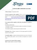 Bases Para Publicación de Libros Compendio